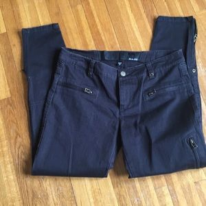 """Joe's Jeans """"The Pant"""" Cropped Moto Jeans"""